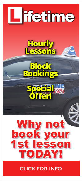 Lifetime School of Motoring - Hourly Lessons, Block Bookings